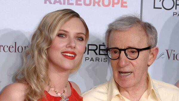 Woody Allen - Scarlett Johansson - Sputnik Türkiye