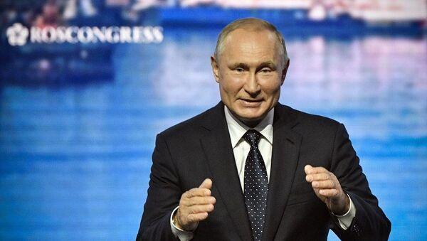 Vladimir Putin, 5. Doğu Ekonomi Forumu - Sputnik Türkiye