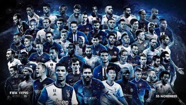 FIFA FIFPro - Sputnik Türkiye