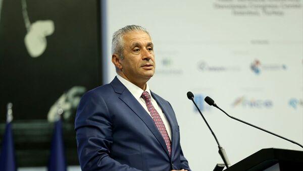 Kuzey Kıbrıs Ekonomi ve Enerji Bakanı Hasan Taçoy - Sputnik Türkiye