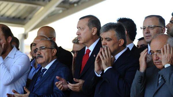 Beşir Atalay - Recep Tayyip Erdoğan - Abdullah Gül - Sputnik Türkiye