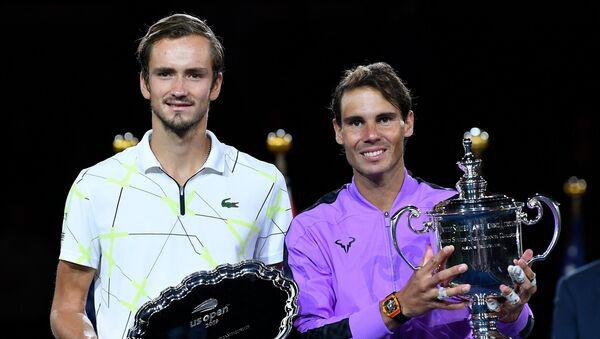 İspanyol Rafael Nadal ve Rus Daniil Medvedev - Sputnik Türkiye