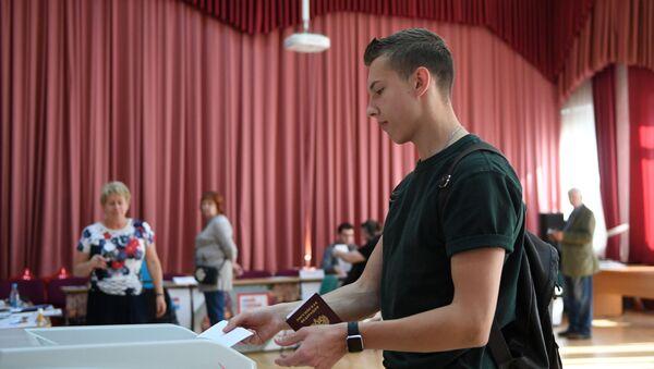 Moskova Kent Duması seçimleri - Sputnik Türkiye