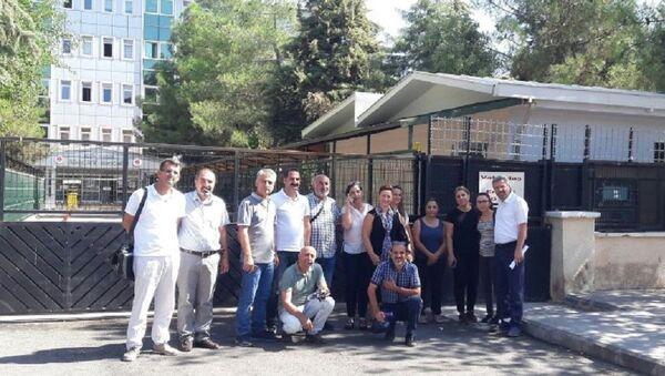 Diyarbakır'da yargılanan 3 akademisyen - Sputnik Türkiye
