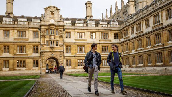 İngiltere Cambridge Üniversitesi - Sputnik Türkiye