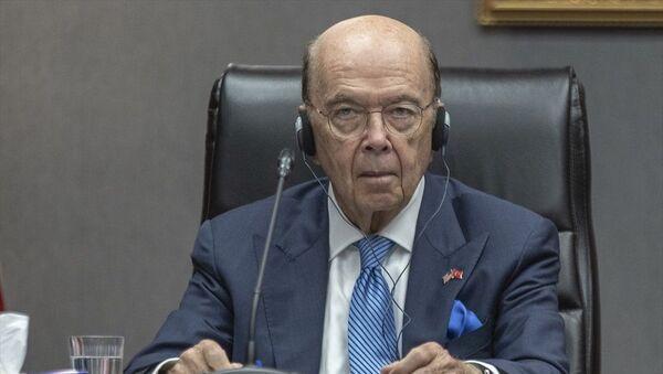 ABD Ticaret Bakanı Wilbur Ross - Sputnik Türkiye