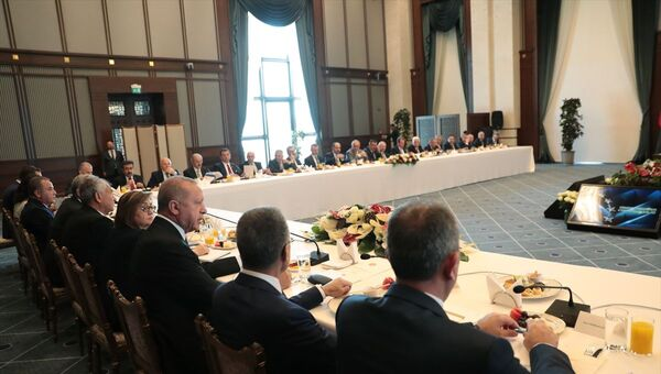 Recep Tayyip Erdoğan, Büyükşehir Belediye Başkanları Toplantısı - Sputnik Türkiye