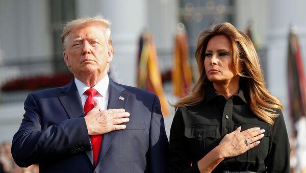Donald Trump - Melania Trump - Sputnik Türkiye