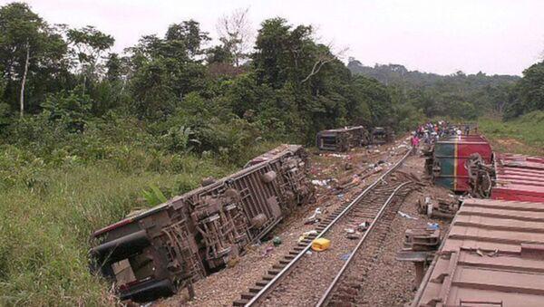Kongo'da tren kazası: En az 50 ölü - Sputnik Türkiye