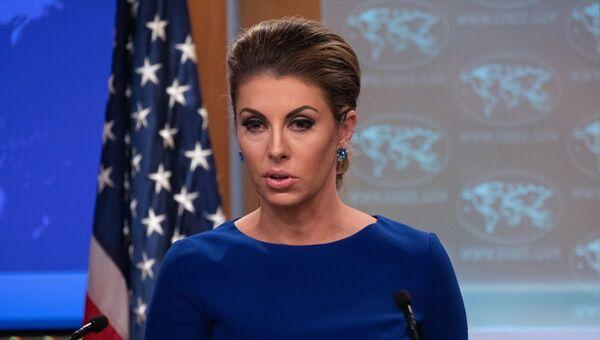ABD Dışişleri Bakanlığı Sözcüsü Morgan Ortagus - Sputnik Türkiye