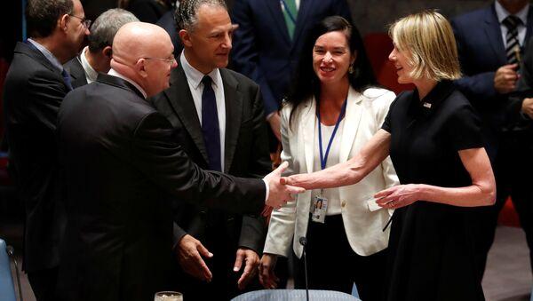 ABD'nin yeni Birleşmiş Milletler (BM) Daimi Temsilcisi Kelly Craft, görevine başladı.  - Sputnik Türkiye