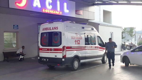 Adana'nın Kozan ilçesinde 4 yaşındaki çocuk evde av tüfeğiyle vurularak yaralandı. - Sputnik Türkiye