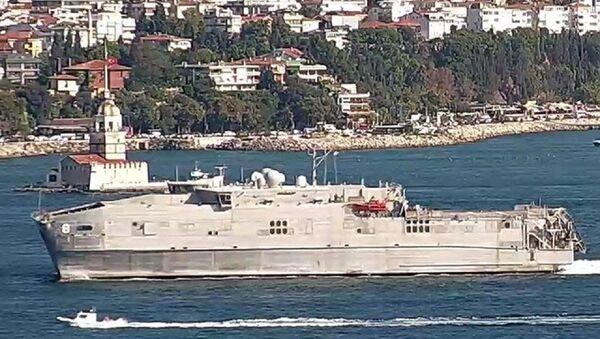 ABD Donanması'na ait USNS Yuma adlı hızlı transfer gemisi - Sputnik Türkiye