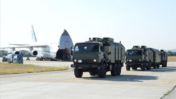 Milli Savunma Bakanlığı, S-400 Füze Savunma Sistemi'nin ikinci batarya malzemelerinin sevkiyatının tamamlandığını açıkladı. - Sputnik Türkiye