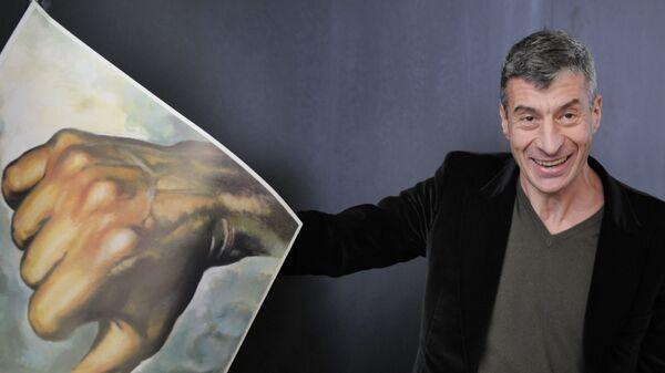 İtalyan çağdaş sanatçı Maurizio Cattelan - Sputnik Türkiye