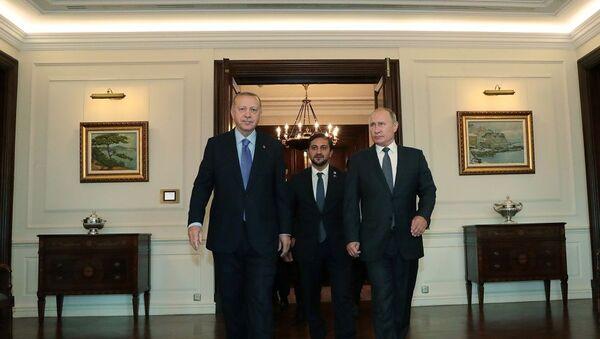 Vladimir Putin-Recep Tayyip Erdoğan - Sputnik Türkiye