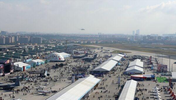 Türkiye'nin en büyük teknoloji etkinliği TEKNOFEST İstanbul Havacılık, Uzay ve Teknoloji Festivali (TEKNOFEST İstanbul) Atatürk Havalimanı'nda başladı. - Sputnik Türkiye