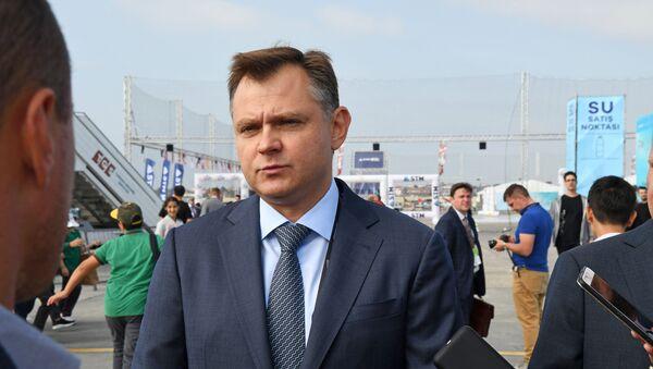 Rusya Birleşik Uçak Şirketi (UAC) Genel Müdürü Yuriy Slyusar - Sputnik Türkiye