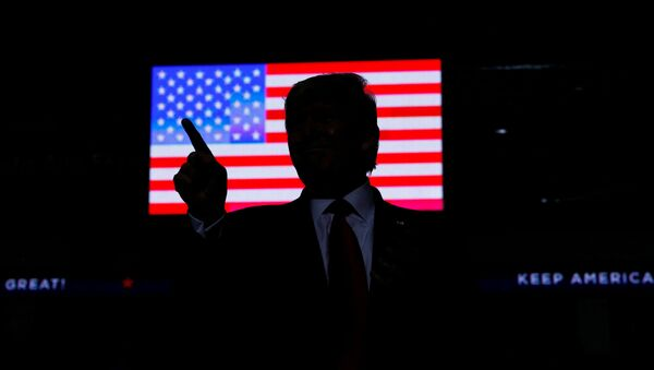 ABD Başkanı Donald Trump, New Mexico seçim kampanyası   - Sputnik Türkiye