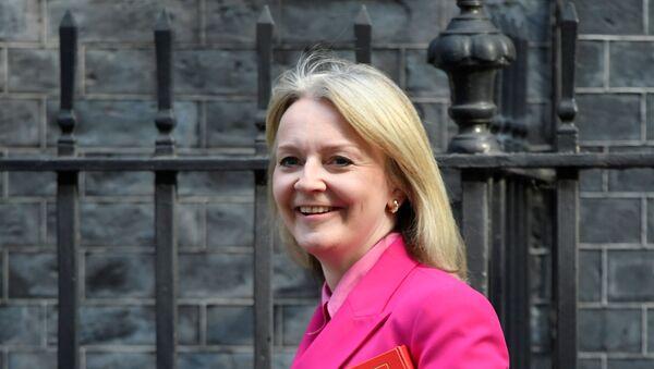 Britain's Secretary of State for International Trade Liz Truss arrives for a cabinet meeting in Downing Street, London, Britain September 10, 2019. REUTERS/Toby Melville - Sputnik Türkiye