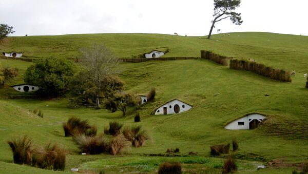 Yüzüklerin Efendisi'nin çekildiği Yeni Zelanda'daki Hobbit köyü seti - Sputnik Türkiye