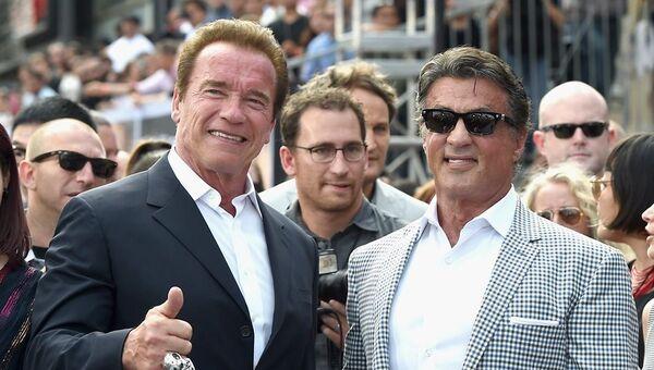 Arnold Schwarzenegger - Sylvester Stallone - Sputnik Türkiye