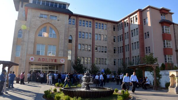 Yazıcıoğlu davasının görüldüğü adliye - Sputnik Türkiye