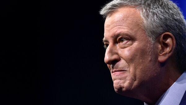 Bill de Blasio, Demokrat Parti'nin New Hampshire eyaleti kongresinde - Sputnik Türkiye
