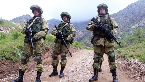Tacikistan'da Rus Ordusu - Sputnik Türkiye