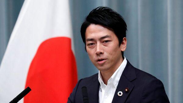 Japonya Çevre BakanıŞinjiro Koizumi - Sputnik Türkiye
