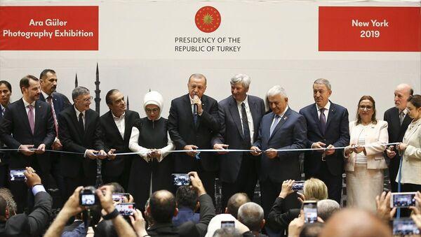 Erdoğan, New York'ta Ara Güler Sergisi'nin açılışını yaptı - Sputnik Türkiye