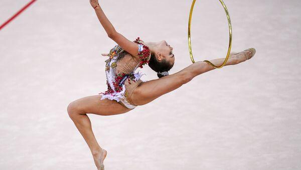Bakü'de Dünya Ritmik Cimnastik Şampiyonası - Sputnik Türkiye