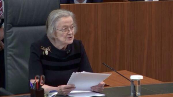 Anayasa Mahkemesi Başkanı Barones Brenda Hale - Sputnik Türkiye