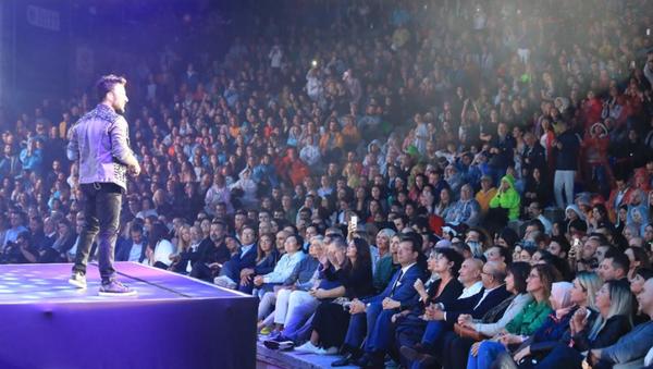 İmamoğlu ile Soyer, Tarkan konserinde - Sputnik Türkiye