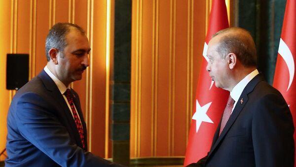 Recep Tayyip Erdoğan - Abdulhamit Gül - Sputnik Türkiye