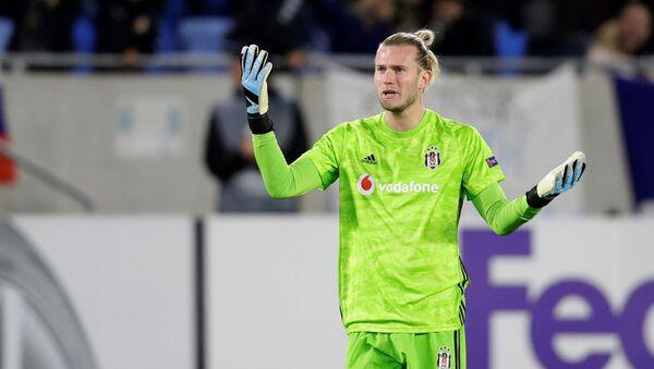 Loris Karius büyük hata yaparak gol yediği Slovan Bratislava-Beşiktaş maçında - Sputnik Türkiye