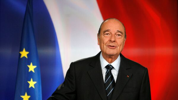 Fransa'nın eski cumhurbaşkanı Jacques Chirac - Sputnik Türkiye