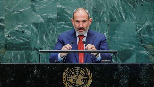 Ermenistan Başbakanı Nikol Paşinyan - Sputnik Türkiye