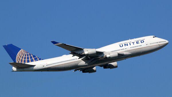 United Airlines - Sputnik Türkiye