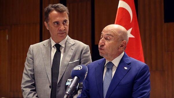 Nihat Özdemir - Fikret Orman  - Sputnik Türkiye