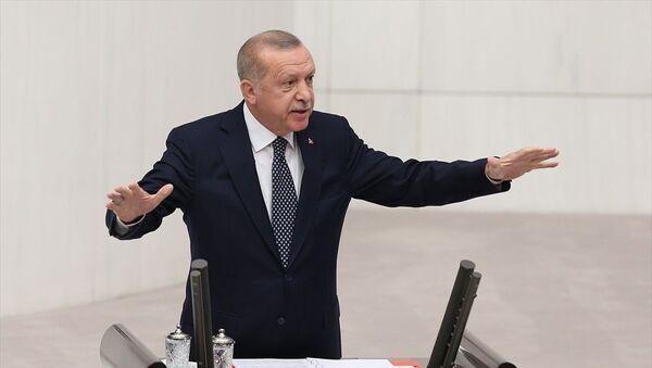 Recep Tayyip Erdoğan, TBMM Genel Kurulu - Sputnik Türkiye