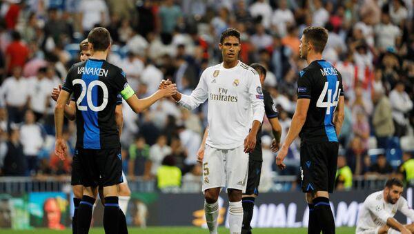 A Grubu'nda Real Madrid, 2-0 geriye düştüğü maçta Club Brugge ile 2-2 berabere kaldı. - Sputnik Türkiye