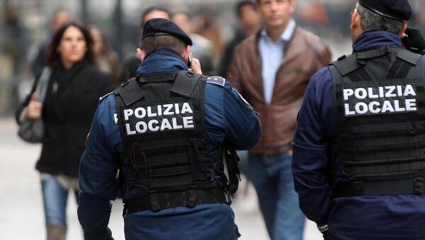 İtalya, polis - Sputnik Türkiye