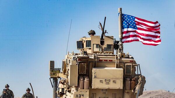 Suriye'deki ABD askerler - Sputnik Türkiye