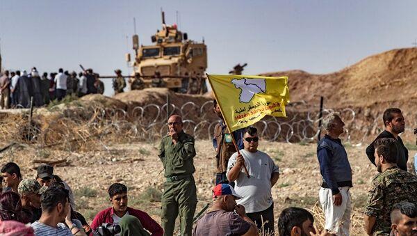 Suriye'deki ABD askerleri - DSG - Sputnik Türkiye