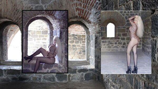Erzurum'daki Aziziye Tabyası'nda mayolu fotoğraf çektiren kadına gözaltı - Sputnik Türkiye