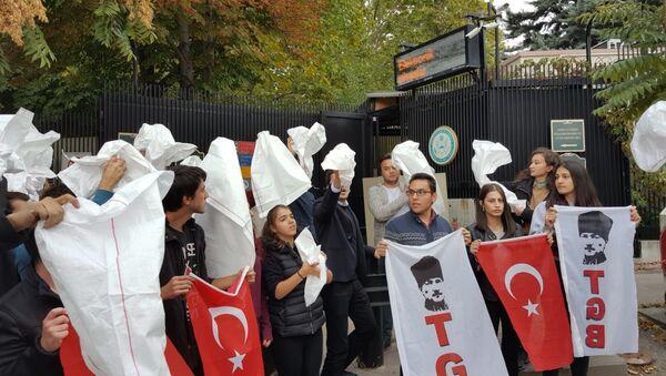 TGB, ABD Büyükelçiliği, protesto - Sputnik Türkiye