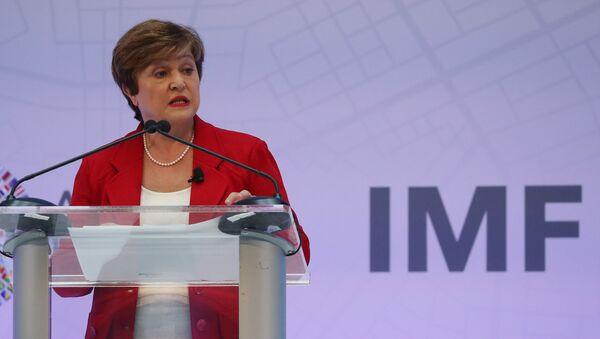 Uluslararası Para Fonu (IMF) BaşkanıKristalina Georgieva - Sputnik Türkiye
