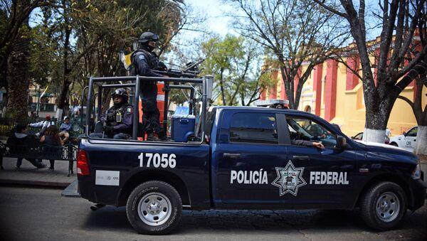 Meksika polis - Sputnik Türkiye