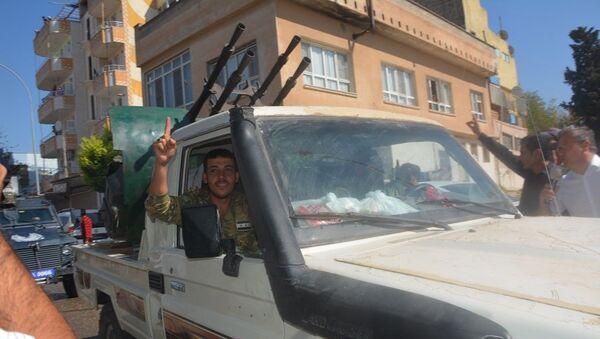 Suriye Milli Ordusu (eski adı ÖSO) - Sputnik Türkiye